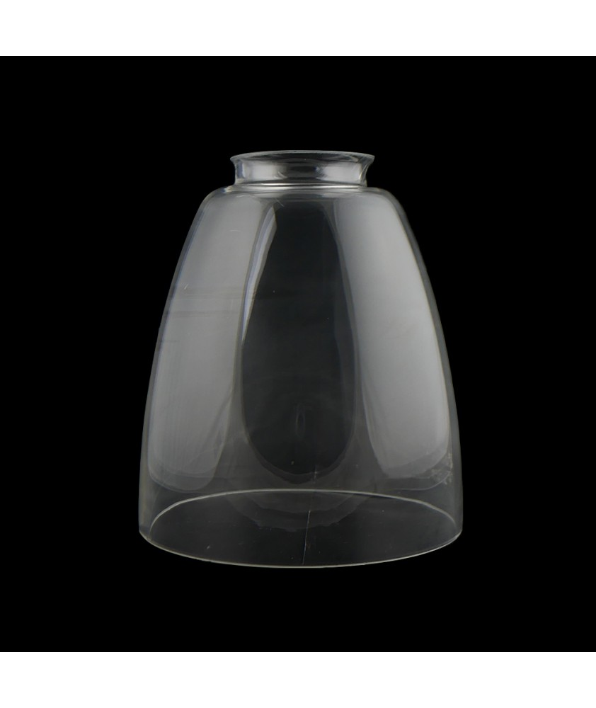 Clear Tulip Light Shade with 55mm Fitter Neck
