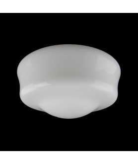 380mm Opal School House Ceiling Light Shade with 150mm Fitter Neck