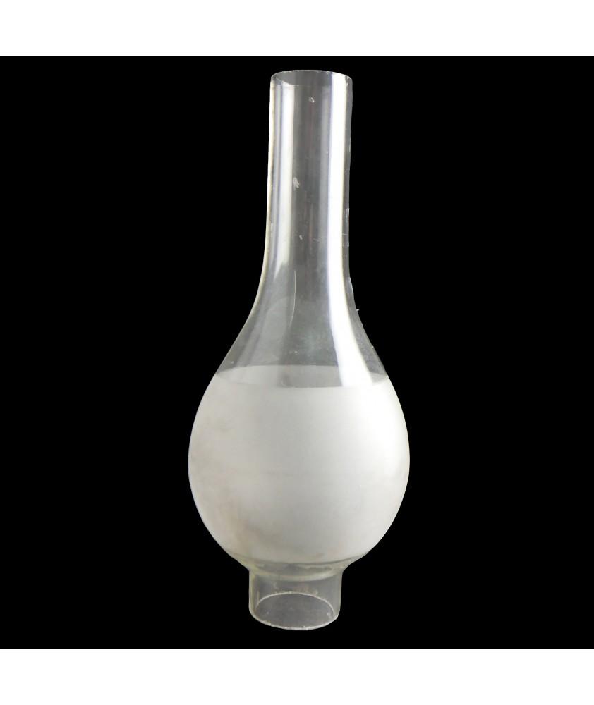 Banded Oil Lamp Chimney 44mm Base
