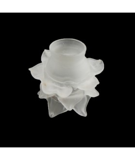 Satin Frilled Tulip Light Shade