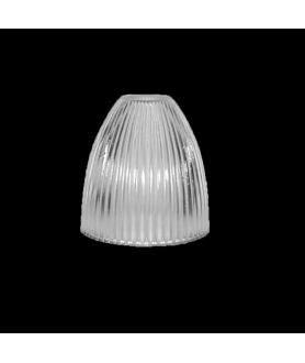 285mm Prismatic Light Shade with 40mm Fitter Hole (clear or frosted)