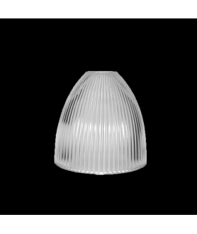 353mm Prismatic Light Shade with 40mm Fitter Hole (Clear or Frosted)