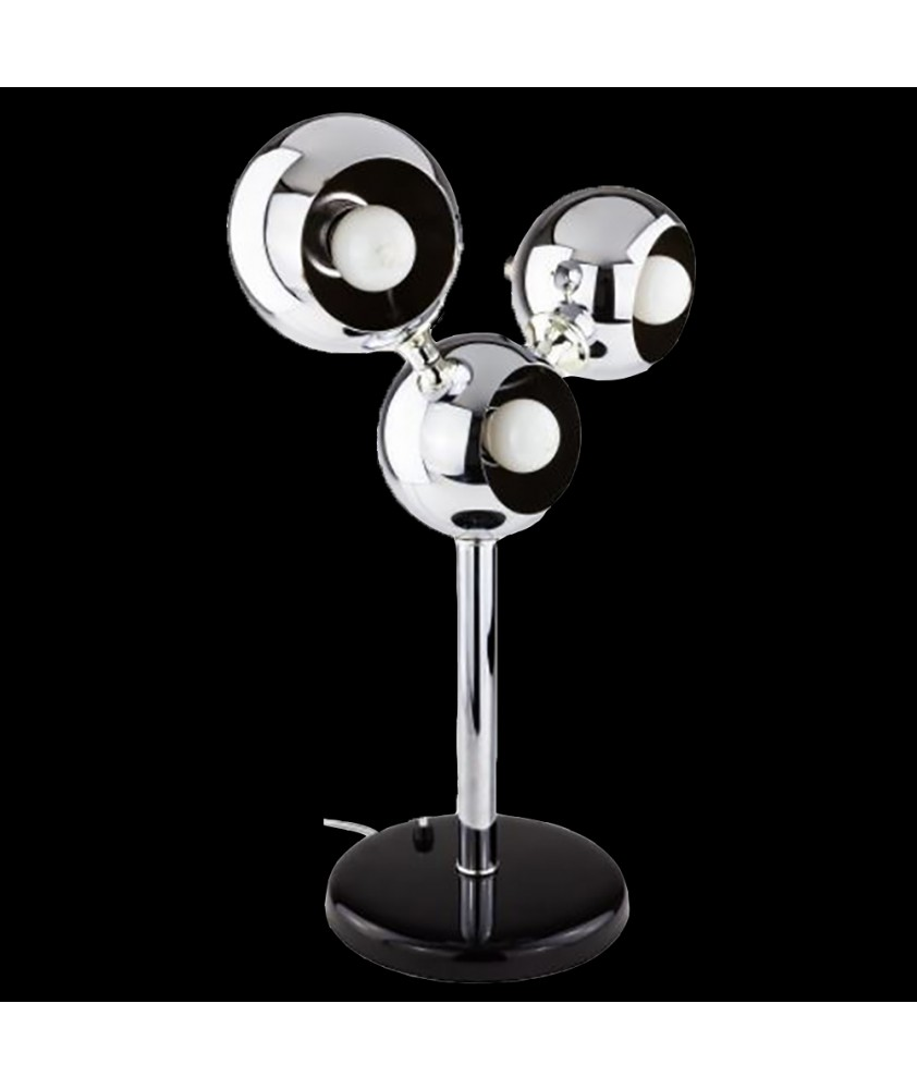 "Modernist ""Mickey Mouse""  Table Lamp"