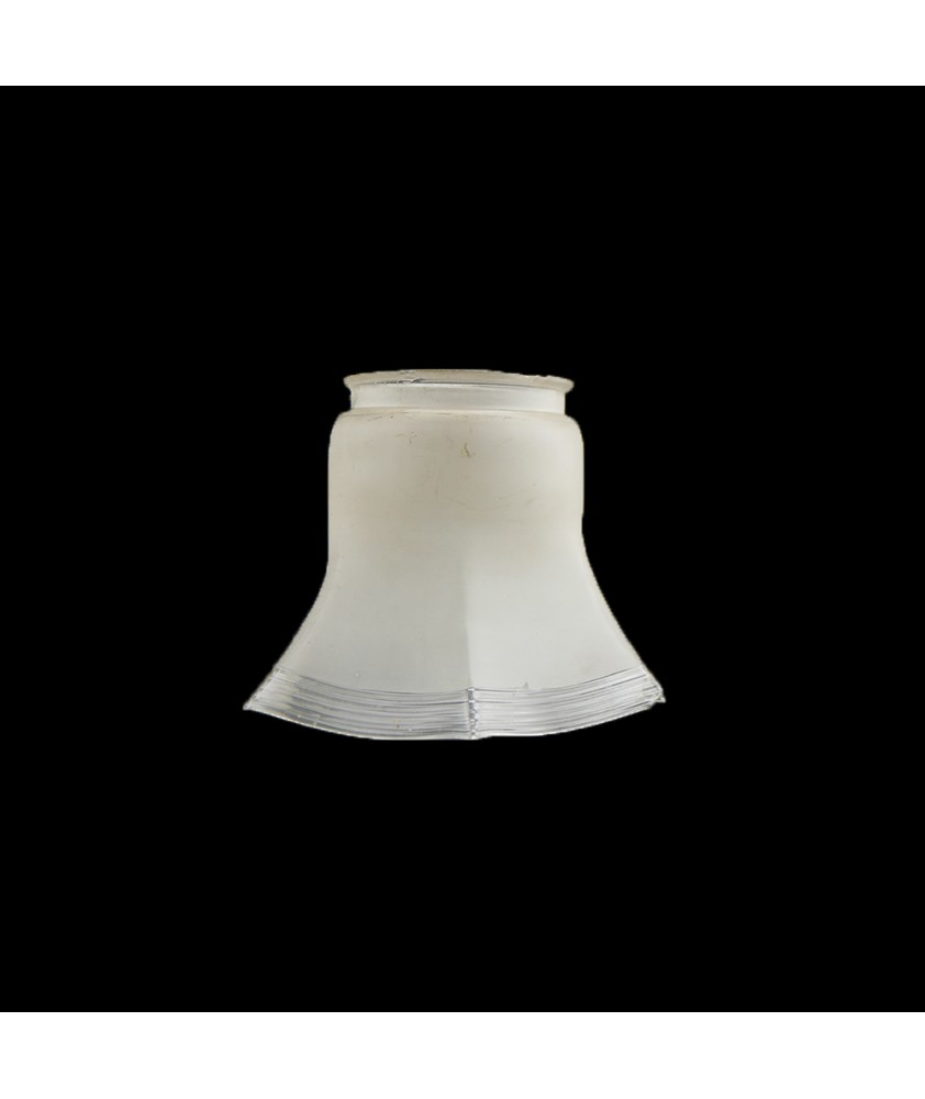Partially Etch Gas Shade with 80mm Fitter Neck