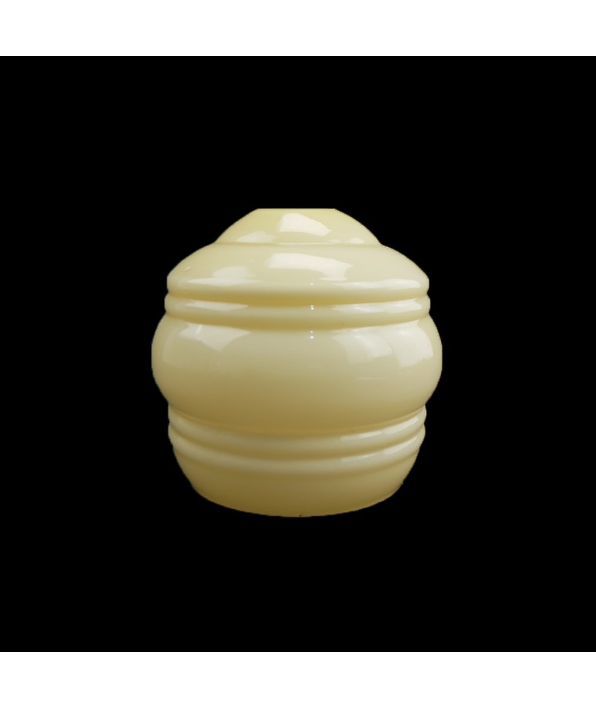 Art Deco Primrose Beehive Tulip Shade with 30mm Fitter Hole