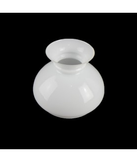137mm Base Opal Vesta Oil Lamp Shade