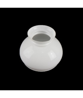 130mm Base Opal Vesta Oil Lamp Shade