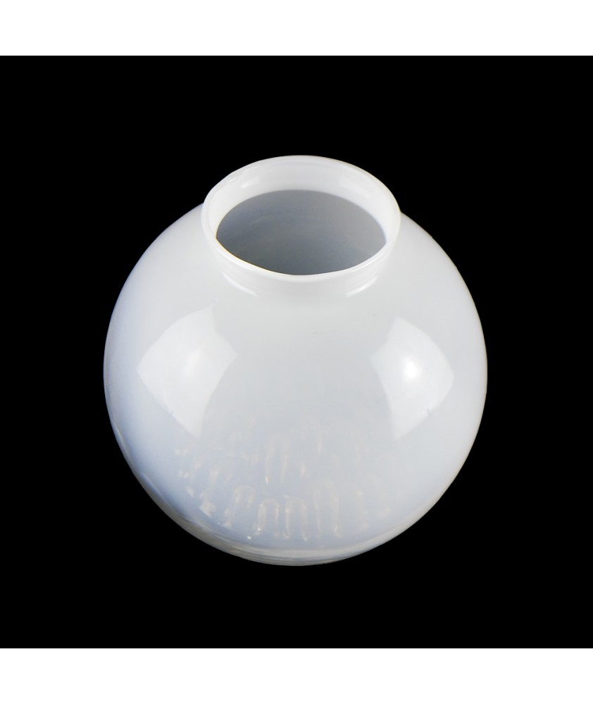 Opalescent Globe with Dimpled  Pattern and 82mm Fitter Neck
