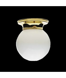 Opal  Flush Ceiling Light