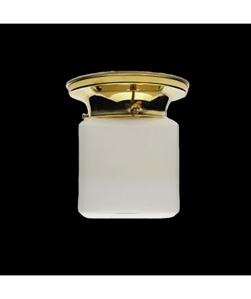 Opal Cube Ceiling Light