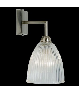 Elongated Prismatic Dome Wall Light