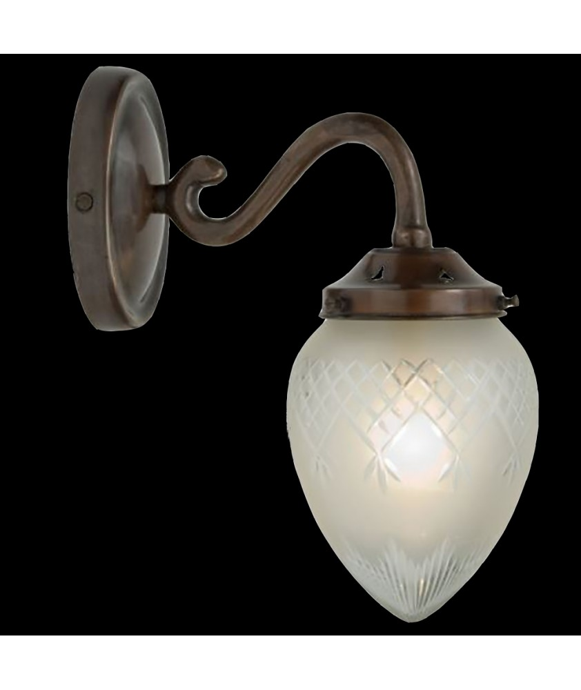 Antique Swan Neck Wall Light