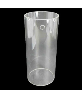 300mm Clear Glass Cylinder with 135mm Diameter and 3 Hole for Fitting