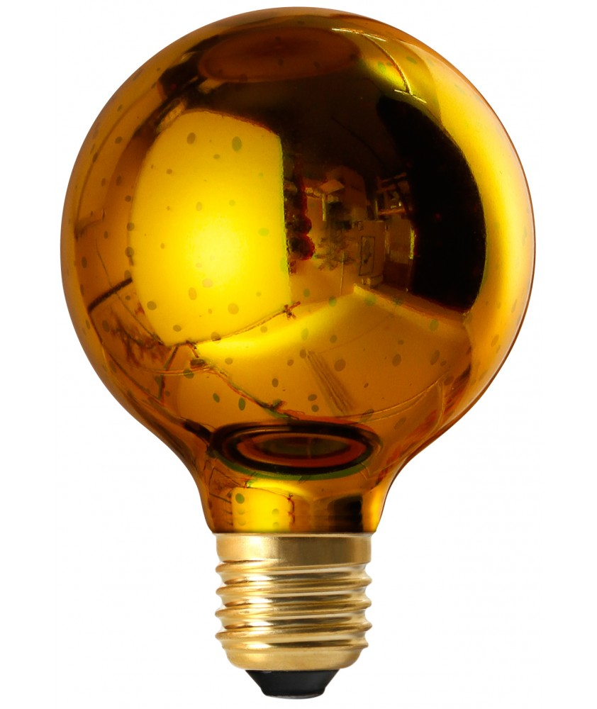 Cosmos - Globe G80 LED 4w E27 Gold