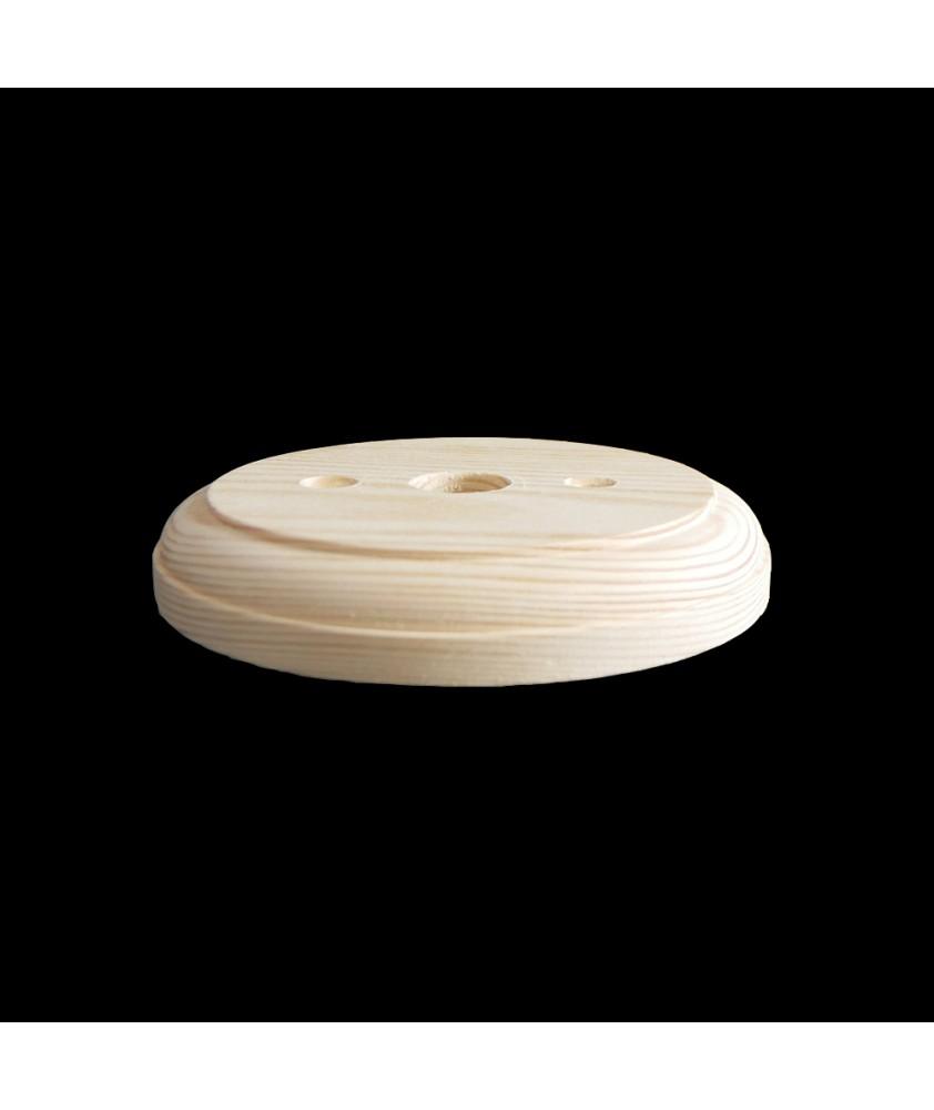 125mm Wooden Back Plate (Matt)