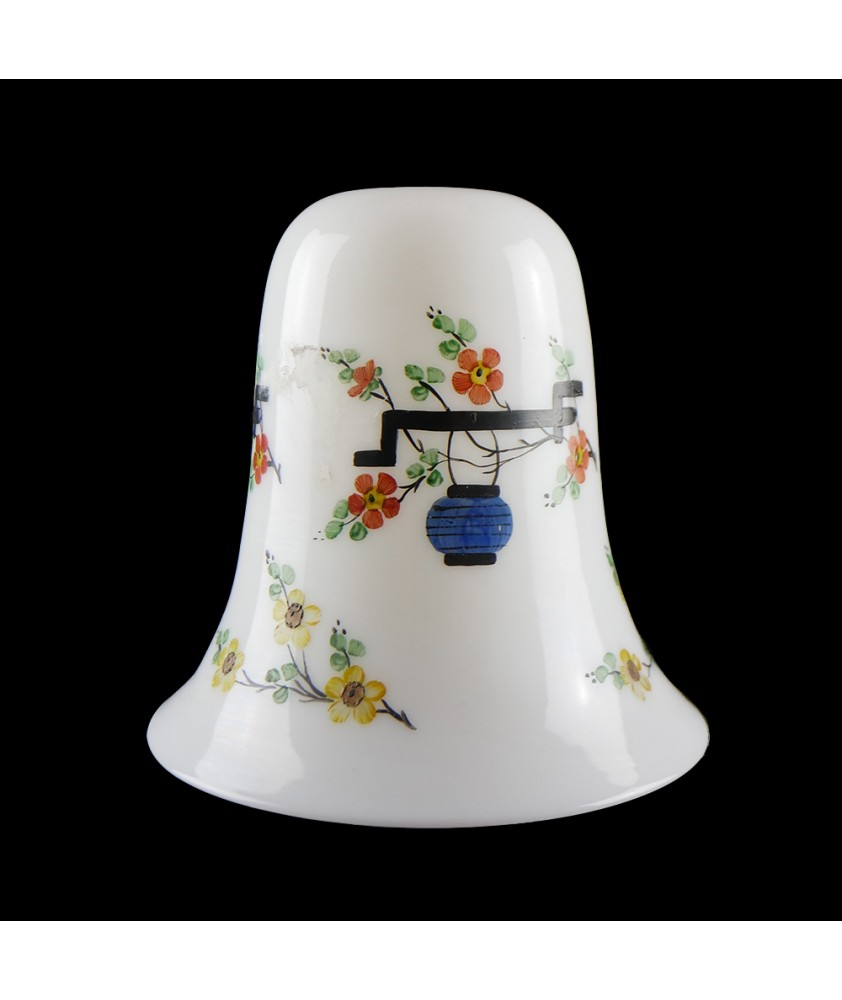 Vintage White Shade with Lantern Pattern (shade only or Pendant)