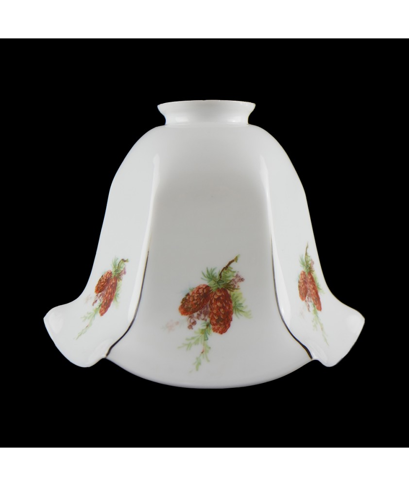 Complete White Flower Shade (Shade only or Pendant)