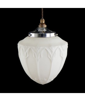 Vintage Acorn Shade (Shade only or Pendant)