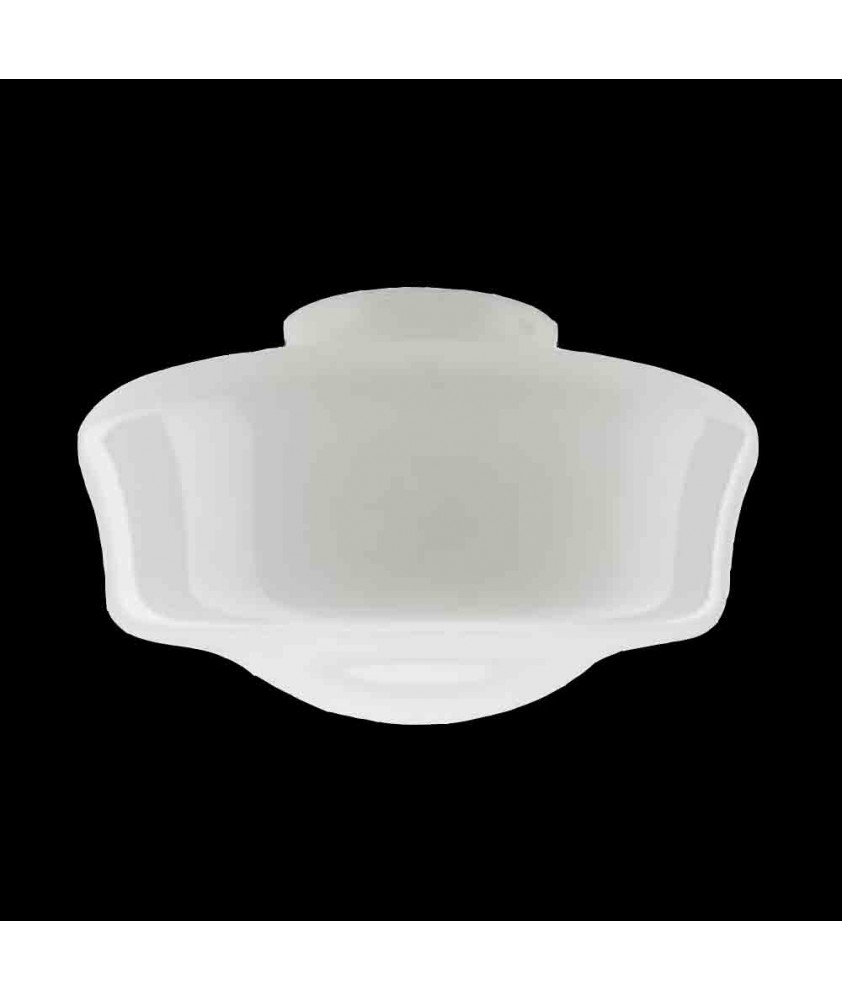 380mm Opal School House Shade with 150mm Fitter Neck