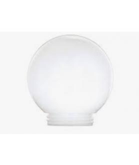 150mm Opal Acrylic Globe with 82mm Screw Neck