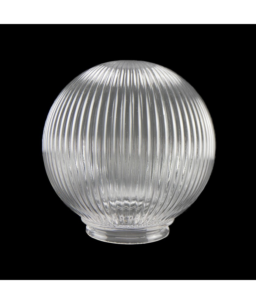 300mm Reeded Globe with 95mm Fitter Neck