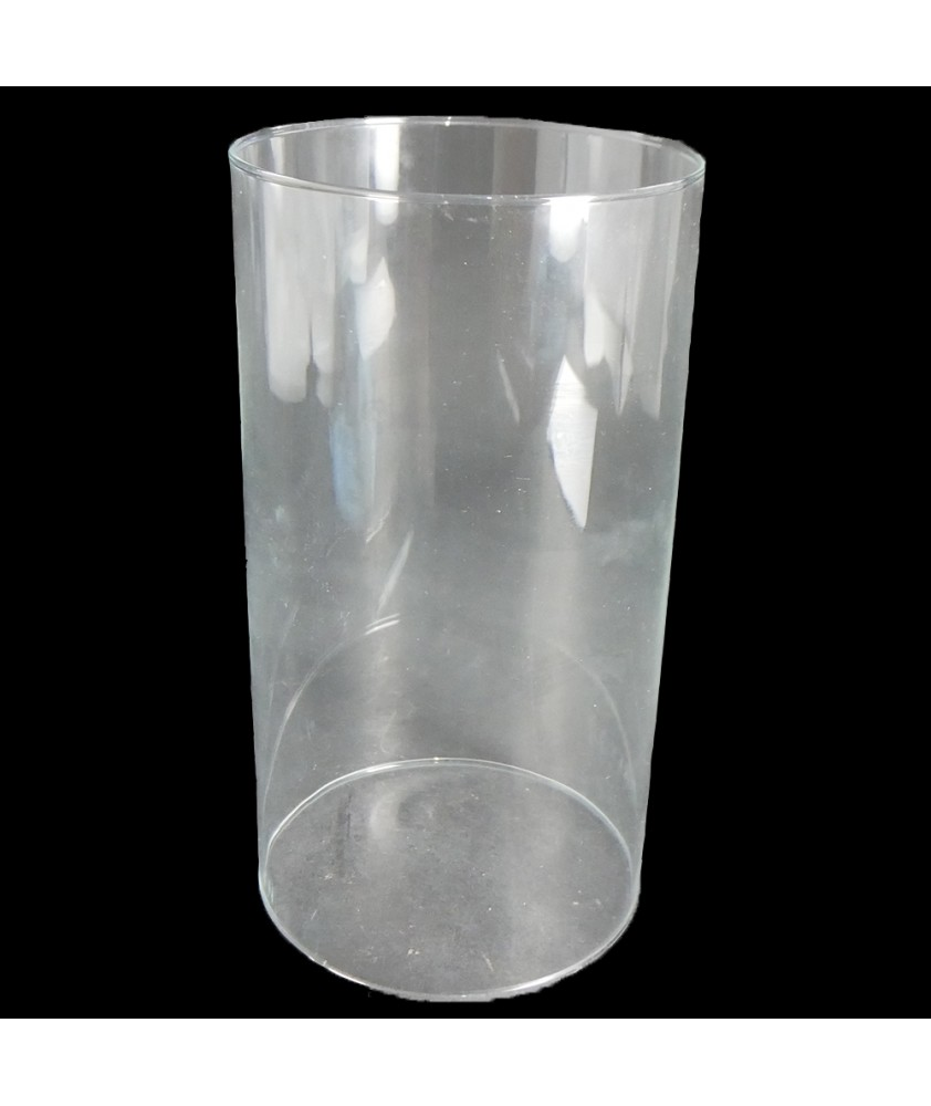 240mm Clear Cylinder with 130mm Base
