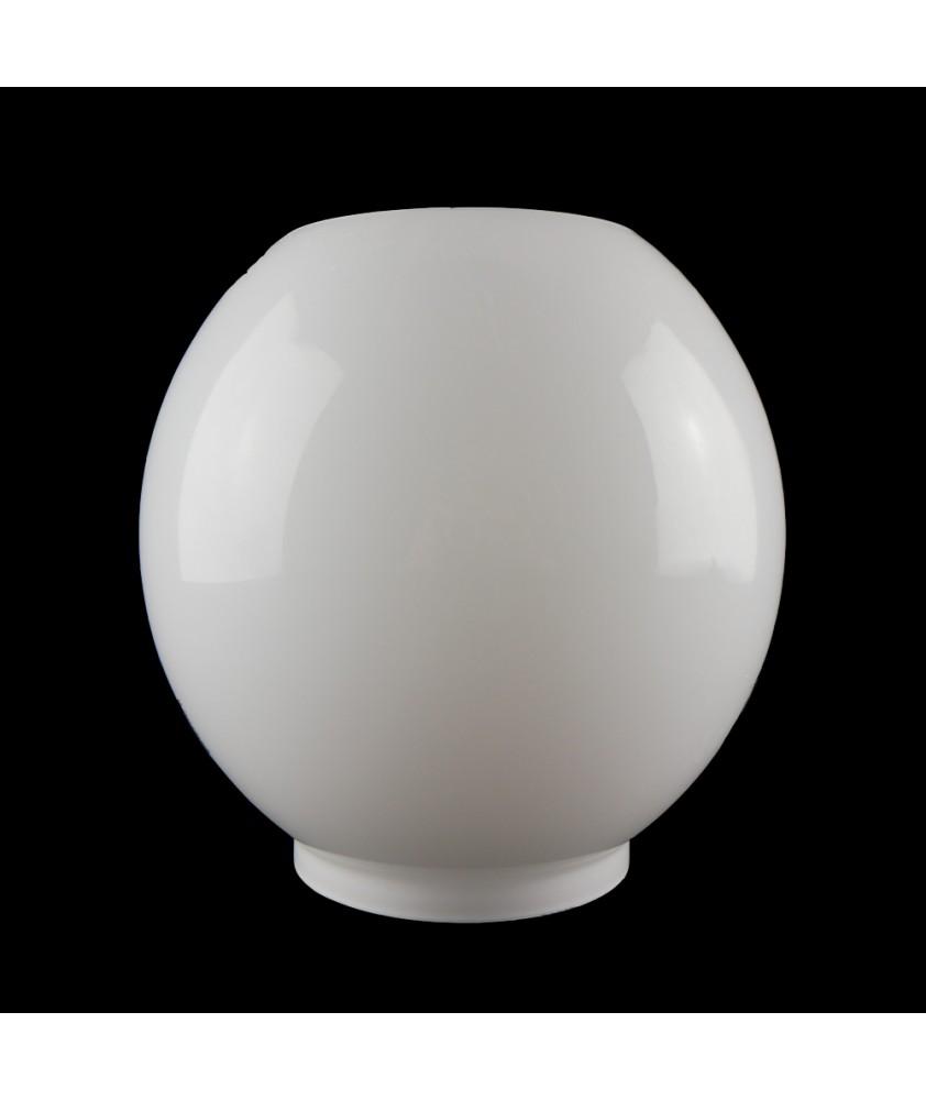 Opal Oil Lamp Globe with 100mm Base