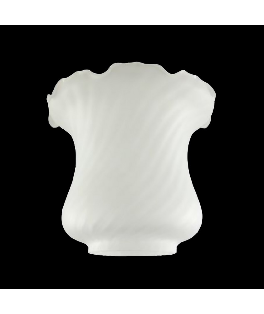 Frosted  Oil Lamp Shade with 100mm Base