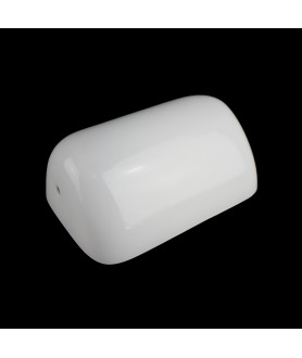 White Bankers Lamp Shade