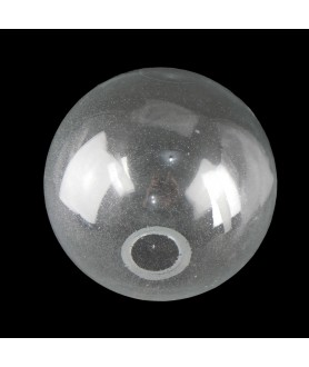 300mm Clear Globe shade with Seed Bubbles and 75mm Fitter Hole