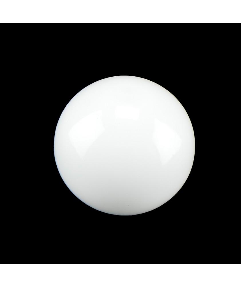 60mm Opal Halogen Globe  Shade with 25mm Fitter Hole (Gloss or Matt)