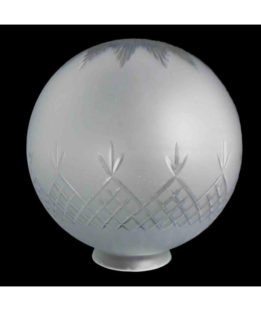 Pineapple Cut Globe with 105mm Fitter Neck