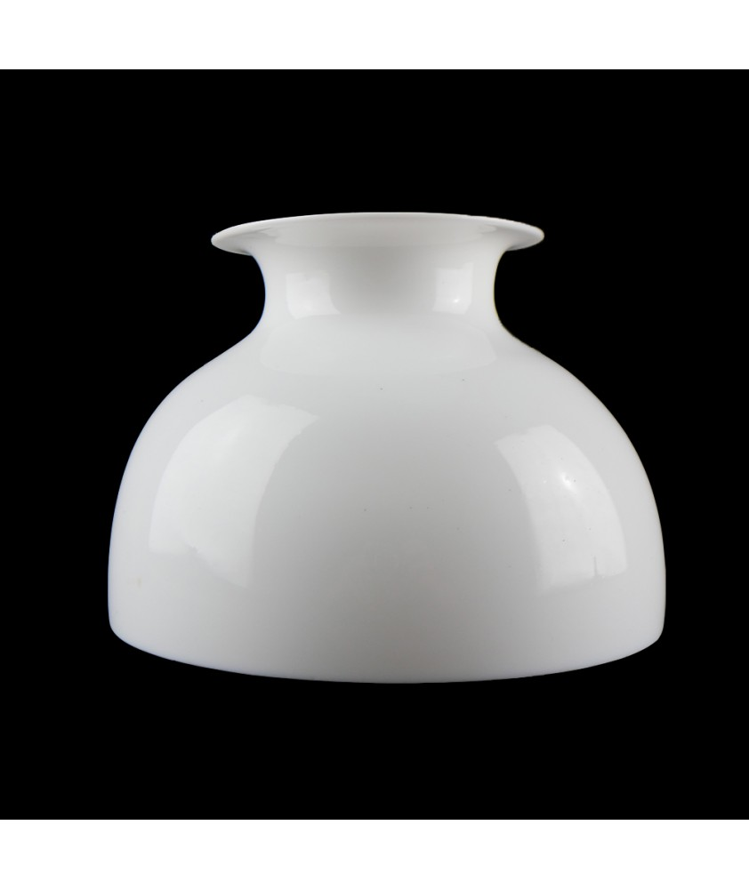178mm Opal Dome Oil Lamp Shade