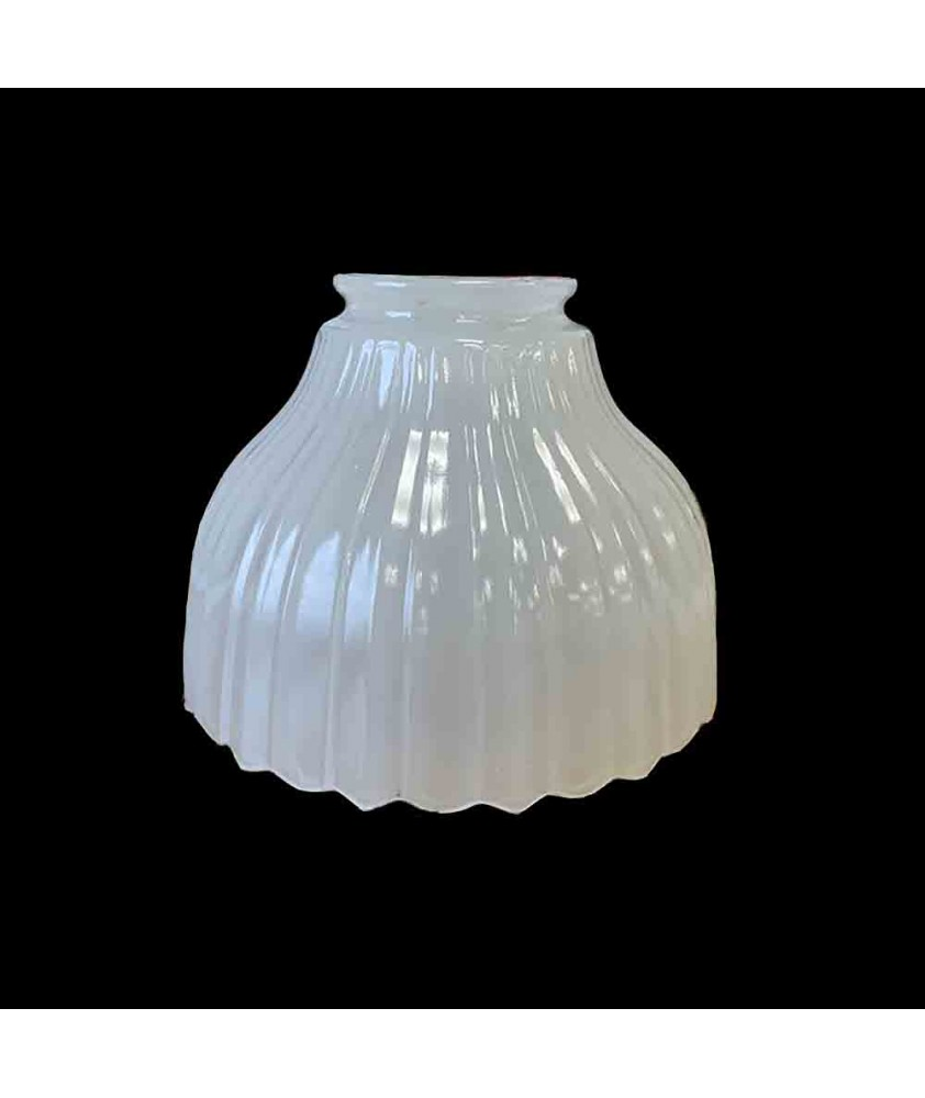 145mm Dia Moonstone Light Shade with 55-57mm Fitter Neck