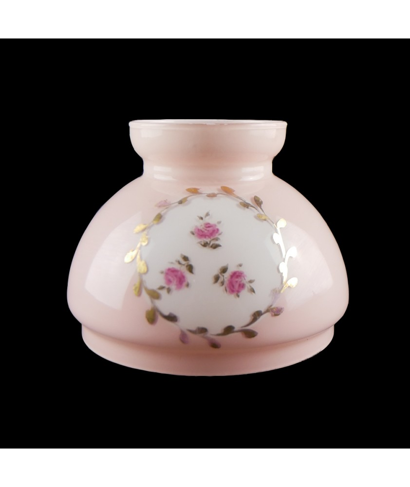 Small Pink Oil Lamp Vesta with 125mm Base