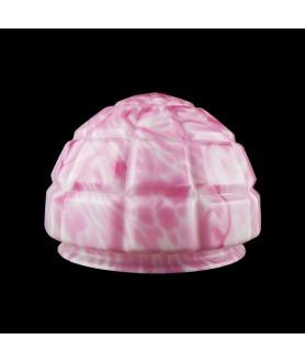 Mottled Pink Ceiling Light Shade