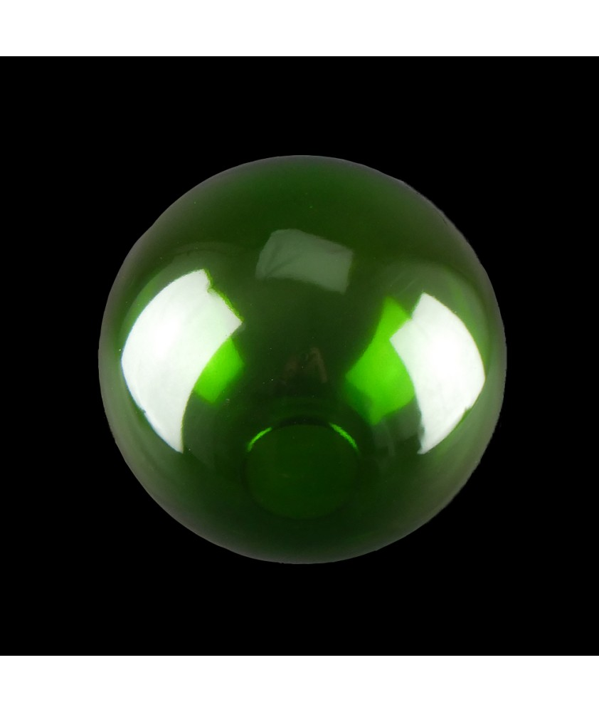 300mm Green Coloured Globes with 100mm Fitter Hole