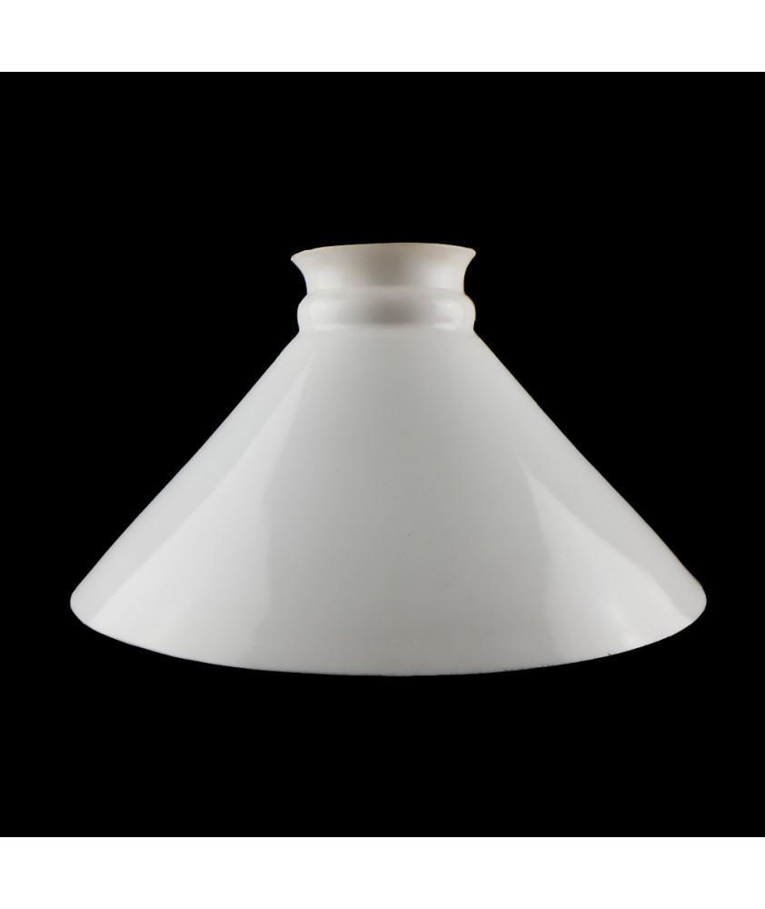 """Church"" style oil lamp shade 340mm Base"