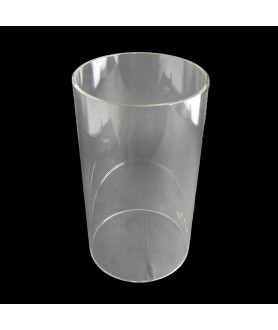 200mm Diameter Clear Cylinder Glass Shade