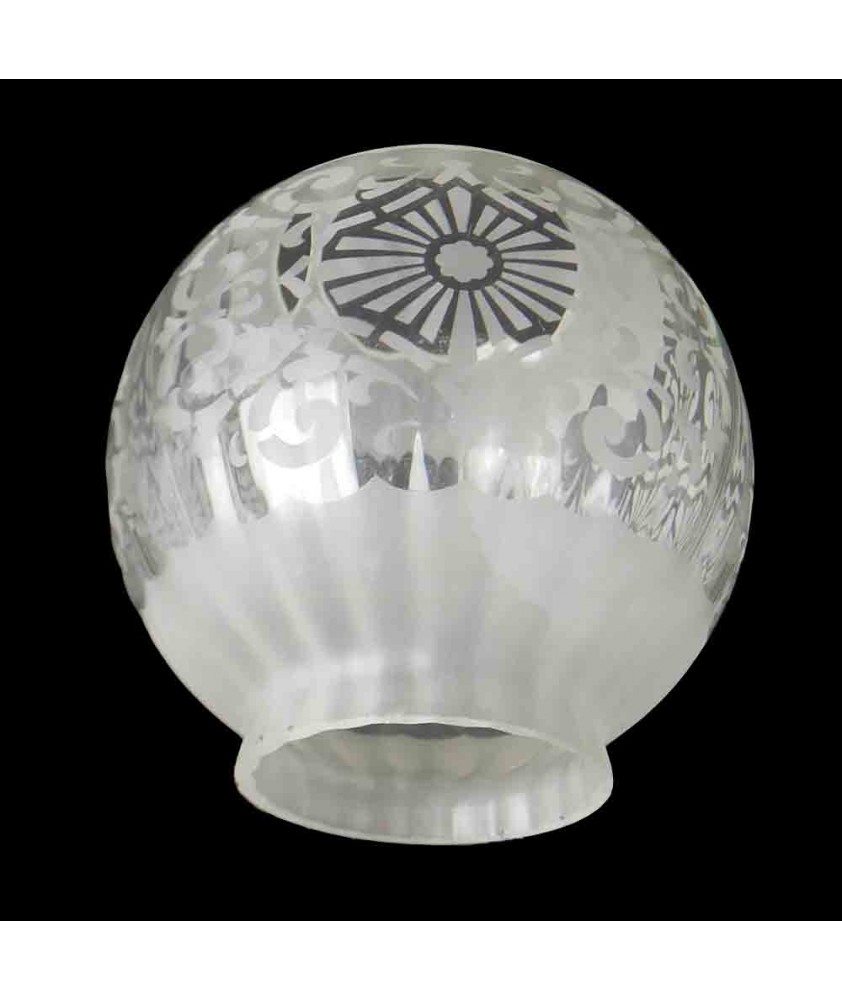 Christopher Wray Ceiling/Oil Lamp Shade with 100mm Fitter