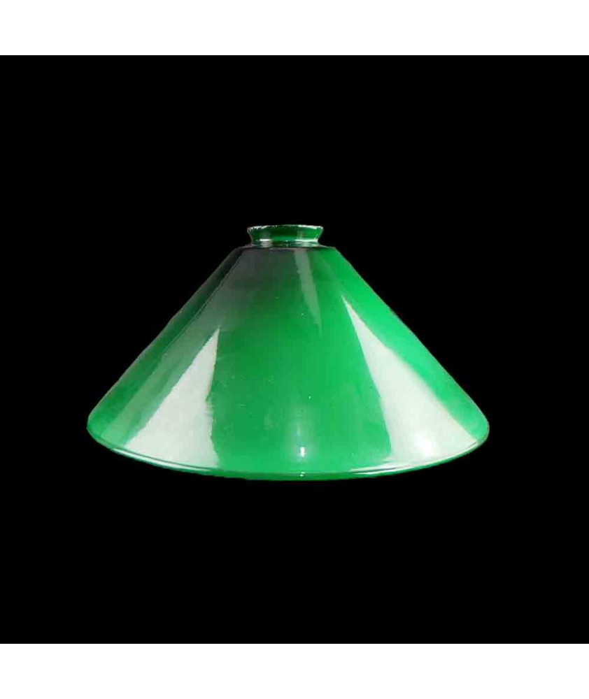 295mm Original Green Coolie Shade with 57mm Fitter Neck