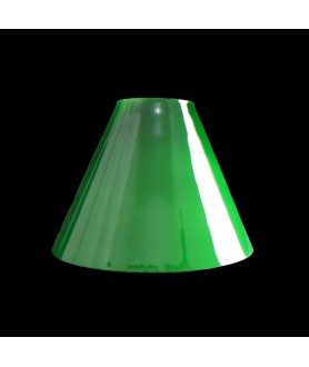 Small Green Coolie Light Shade with 65mm Fitter Hole