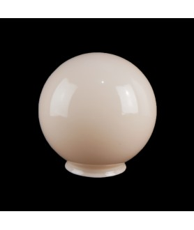 150mm Pink Globe Liight Shade with 100mm Fitter Neck