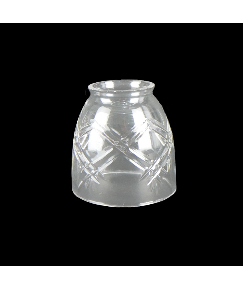 Miniature Crystal Cut Tulip Light Shade with 36mm Fitter Neck