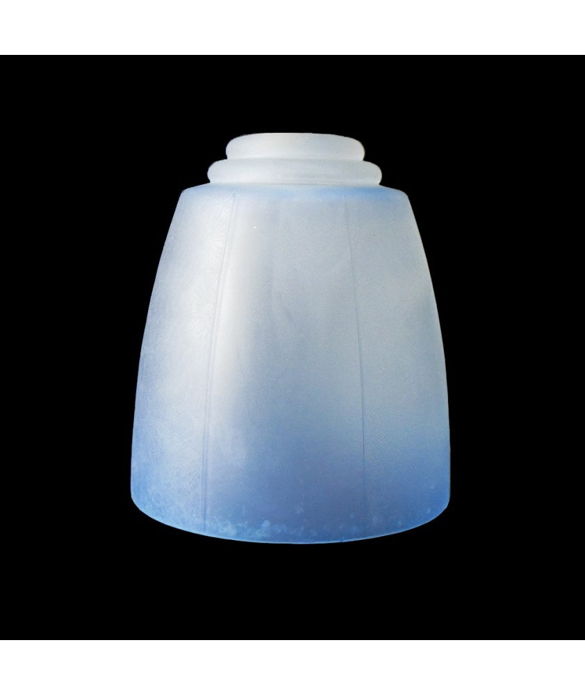 Blue Patterned Tulip Light Shade with 30mm Fitter Hole