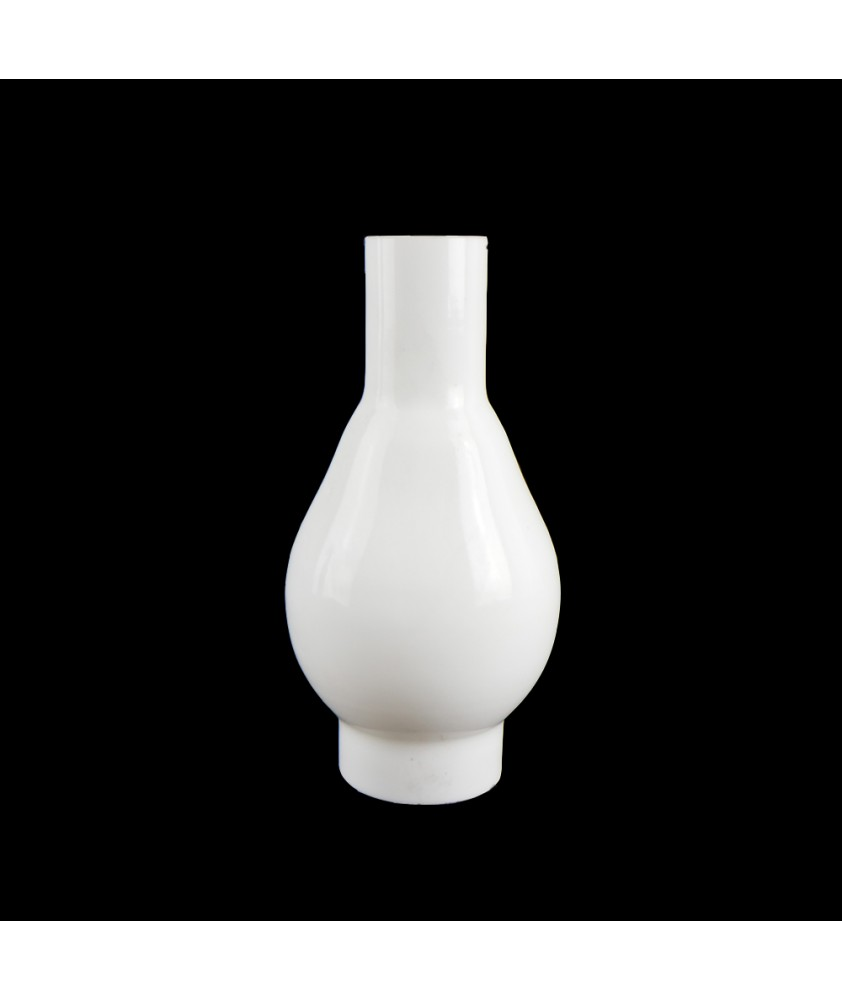 Opal Oil Lamp Chimney with 44mm Base