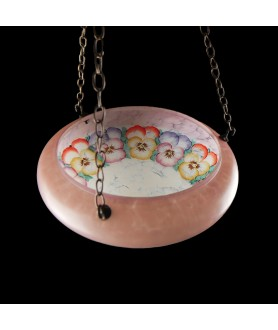 Complete Fly Catcher Ceiling Shade with Floral Design