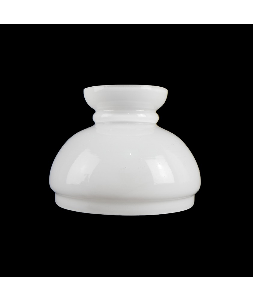 Opal Vesta Shade Oil Lamp Shade  with 105mm Base