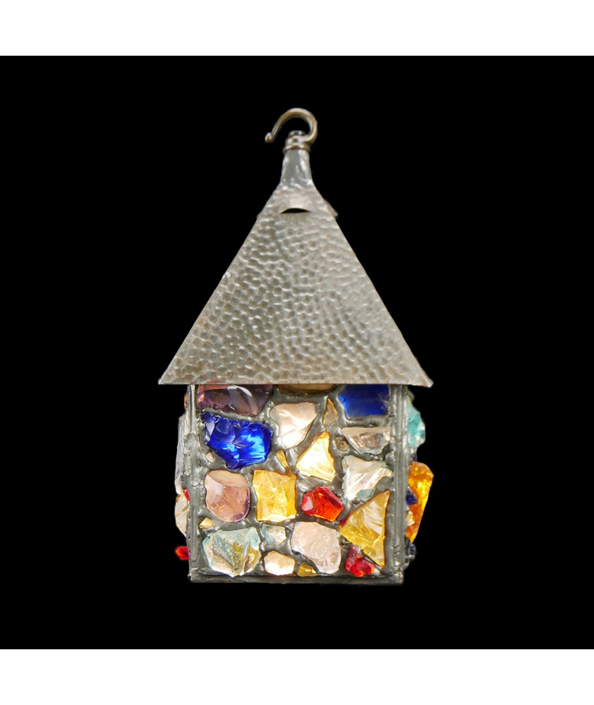 Unique Mosaic Patterned Latern Light