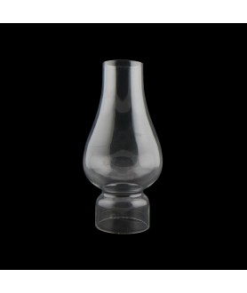 Comet Tram Oil Lamp Chimney with 50mm Base